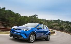 Toyota C-HR đắt hơn hẳn 2 đối thủ Honda HR-V và Mazda CX-3