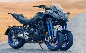 Xe mô tô 3 bánh Yamaha NIKEN chính thức lộ diện