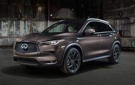 Đấu Mercedes-Benz GLC, Infiniti QX50 2019 dùng động cơ tỷ số nén biến thiên đầu tiên thế giới