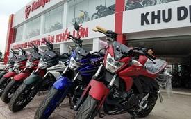 Lô xe côn tay Yamaha V-Ixion R 2017 đầu tiên cập bến Việt Nam với giá hơn 70 triệu Đồng