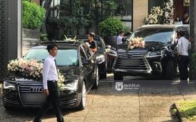 Audi A8L cùng dàn xe sang tham dự lễ đón dâu của Hoa hậu Thu Thảo