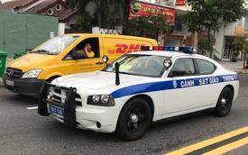 Xe cảnh sát Dodge Charger phục vụ APEC tại Đà Nẵng