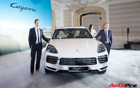 Porsche Cayenne 2018 ra mắt Việt Nam, giá trên 4,5 tỷ đồng