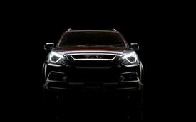 Isuzu MU-X 2017 sắp ra mắt được hé lộ, sẵn sàng cạnh tranh Toyota Fortuner
