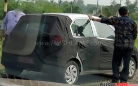 """""""Đàn em"""" của Hyundai Grand i10 lần đầu lộ diện"""