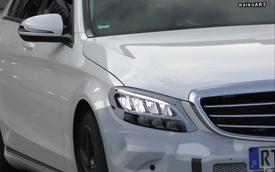 Mercedes-Benz C-Class phiên bản mới lộ ảnh chạy thử phiên bản gần sản xuất