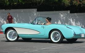 """Từng được tặng Range Rover và Rolls-Royce nhưng em gái cô Kim """"siêu vòng ba"""" lại gắn bó với chiếc Chevrolet cổ"""