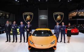 Siêu xe Lamborghini Huracan Performante chính thức ra mắt châu Á