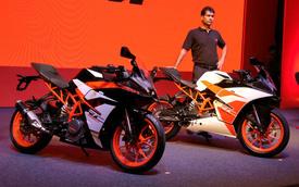 """Cặp đôi mô tô giá """"mềm"""" KTM RC390 và RC200 2017 cập bến Ấn Độ"""