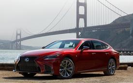 Sedan hạng sang cỡ lớn Lexus LS500 2018 dự kiến có giá khởi điểm 76.000 USD