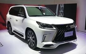 """""""Chuyên cơ mặt đất"""" Lexus LX570 Superior chính thức ra mắt châu Á, giá từ 5 tỷ Đồng"""