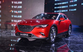 """Crossover cỡ nhỏ khiến nhiều người """"phát thèm"""" Mazda CX-4 có phiên bản nâng cấp"""
