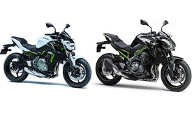 """Cặp đôi naked bike Kawasaki Z900 và Z650 2017 sắp ra mắt Việt Nam với """"giá thơm"""""""