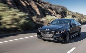 Cận cảnh sedan thể thao hạng sang Genesis G80 Sport 2018