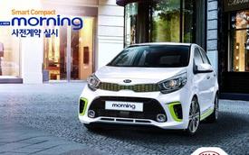 Kia Morning thế hệ mới chính thức trình làng, giá từ 180 triệu Đồng