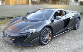 McLaren 675LT Spider Carbon Series siêu hiếm mới về tay chủ đã bị rao bán