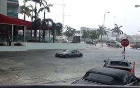 Cố lái xe thể thao Nissan 370Z vào đường ngập, người đàn ông nhận cái kết dễ đoán