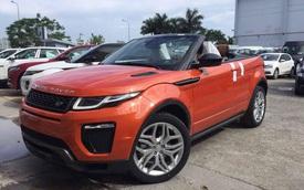 Range Rover Evoque mui trần mới về Việt Nam mất bao nhiêu giây để đóng hoặc hạ mui?