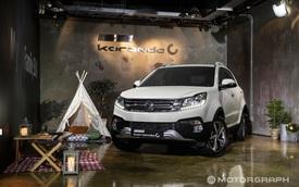SUV cỡ nhỏ SsangYong Korando 2017 trình làng với giá khởi điểm 428 triệu Đồng