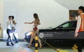 Hồ Ngọc Hà lái Maserati Ghibli S Q4 đi sinh nhật Đàm Vĩnh Hưng ngay sau khi nhận xe