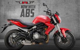 Benelli TNT 300 bản trang bị phanh ABS ra mắt với giá 115 triệu Đồng
