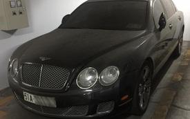 Bentley tiền tỷ phủ bụi trong hầm đỗ xe