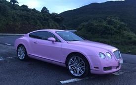 Cư dân mạng xôn xao với chiếc Bentley Continental GT màu hồng có giá rao bán hơn 1 tỷ Đồng