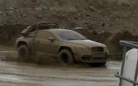 """Thích thú với hình ảnh Bentley Continental GT phiên bản """"tắm bùn"""""""