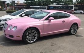 """Bentley Continental GT màu hồng """"đầu quân"""" về đội Đà Nẵng"""