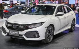 Chiêm ngưỡng Honda Civic Hatchback 2017 mới ra mắt Thái Lan ngoài đời thực