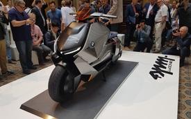 BMW Concept Link - Scooter nhưng tiện nghi như ô tô