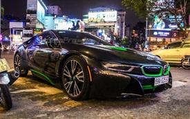 BMW i8 của thiếu gia Cà Mau xuất hiện tại Sài thành