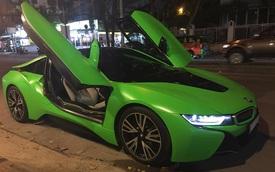 Hàng hot BMW i8 màu lạ của tay chơi Sài thành
