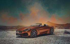 Xem trước diện mạo của xe mui trần hạng sang BMW Z4 thế hệ mới