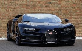Bugatti Chiron đã qua sử dụng được rao bán với giá 4,78 triệu USD