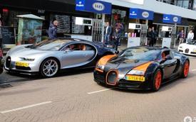 """Dàn Bugatti siêu """"khủng"""" gây náo loạn tại con phố Hà Lan"""