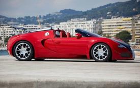 """Bugatti Veyron Grand Sport đỏ rực """"8 tuổi"""" rao bán gần 39 tỷ Đồng"""