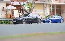 Cặp đôi Maserati 14 tỷ Đồng khoe dáng trên phố Sài thành
