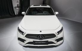 Ảnh thực tế Mercedes-Benz CLS 2019 vừa ra mắt