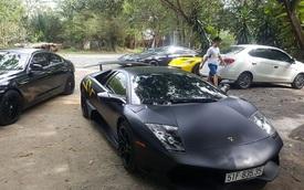 Dàn siêu xe và xe thể thao của đại gia Sài thành tụ tập đầu năm mới