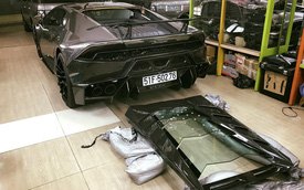 """Bản độ Lamborghini Huracan Novara Edizione độc nhất Việt Nam được trang bị đồ chơi """"khủng"""""""