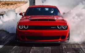 Dodge Challenger SRT Demon 2018 chính thức ra mắt, công suất 840 mã lực