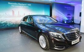 Xe siêu sang Mercedes-Maybach S400 4Matic tiếp tục giới thiệu tới các khách hàng Việt