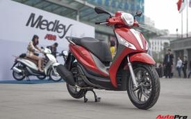 Hơn 3.000 xe Piaggio Medley bị triệu hồi tại Việt Nam