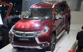 Mitsubishi Pajero Sport giảm giá sâu kỷ lục