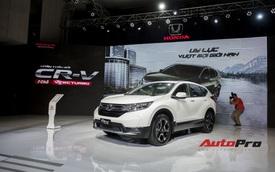 Cận cảnh Honda CR-V 2018 phiên bản cao cấp nhất vừa ra mắt Việt Nam