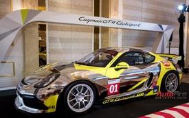 Chi tiết xe đua thể thao Porsche Cayman GT4 ClubSport vừa được giới thiệu tại Việt Nam