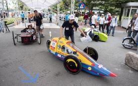 Xe tự chế của sinh viên Việt Nam đi hơn 1.350km với 1 lít nhiên liệu