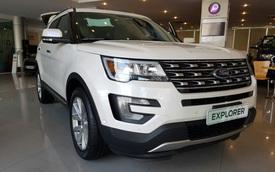 Ford Việt Nam cắt đơn đặt hàng Ranger và Explorer hai tháng đầu 2018