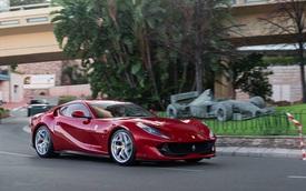Ferrari 812 Superfast đầu tiên xuất hiện tại thiên đường siêu xe